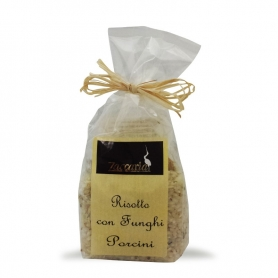 Risotto with porcini mushrooms, 250 gr. - Zaccaria