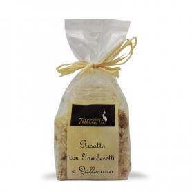 Risotto aux crevettes et safran, 250 gr. - Zaccaria