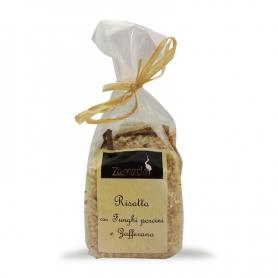 Risotto mit Steinpilzen und Safran, 250 gr. - Zaccaria