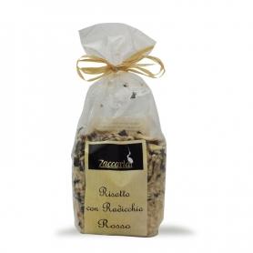 Risotto with Radicchio, 250 gr. - Zaccaria