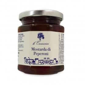 Mostarda di Peperoni, 220 gr. - Le Tamerici