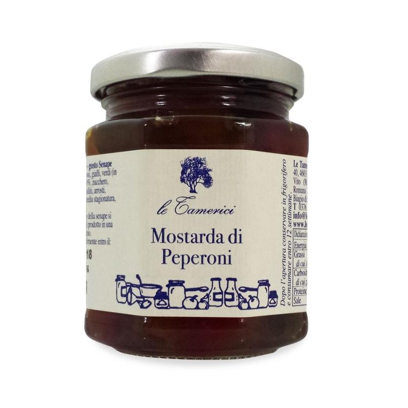 Mustard of pears, 220 gr. - Le Tamerici