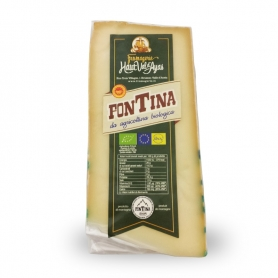 Fontina from organic farming, ca 300 gr. - Fromagerie Haut Val d'Ayas