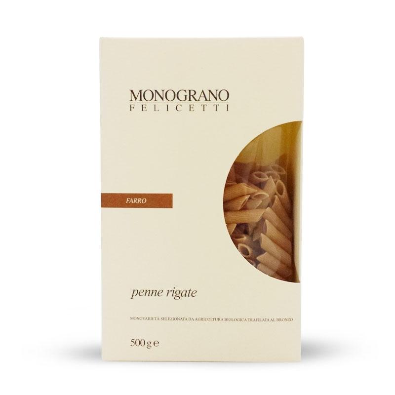 Penne rigate FARRO 500 gr - Pastificio Felicetti