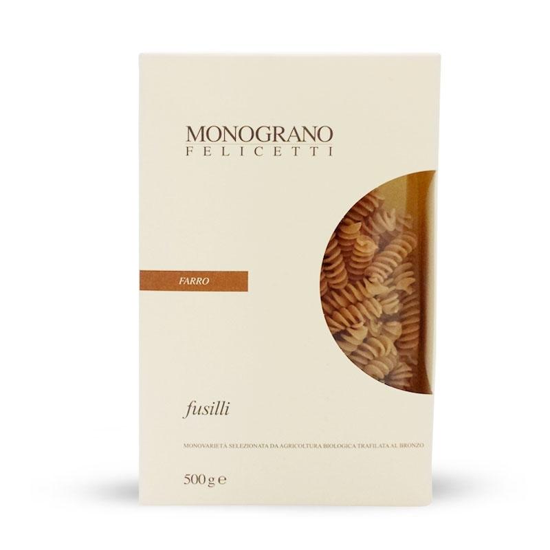 Fusilli FARRO, 500 gr - Pastificio Felicetti