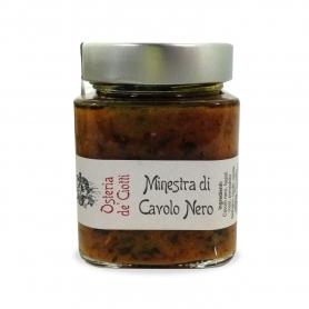 Minestra di Cavolo Nero,  300 gr - Osteria de' Ciotti