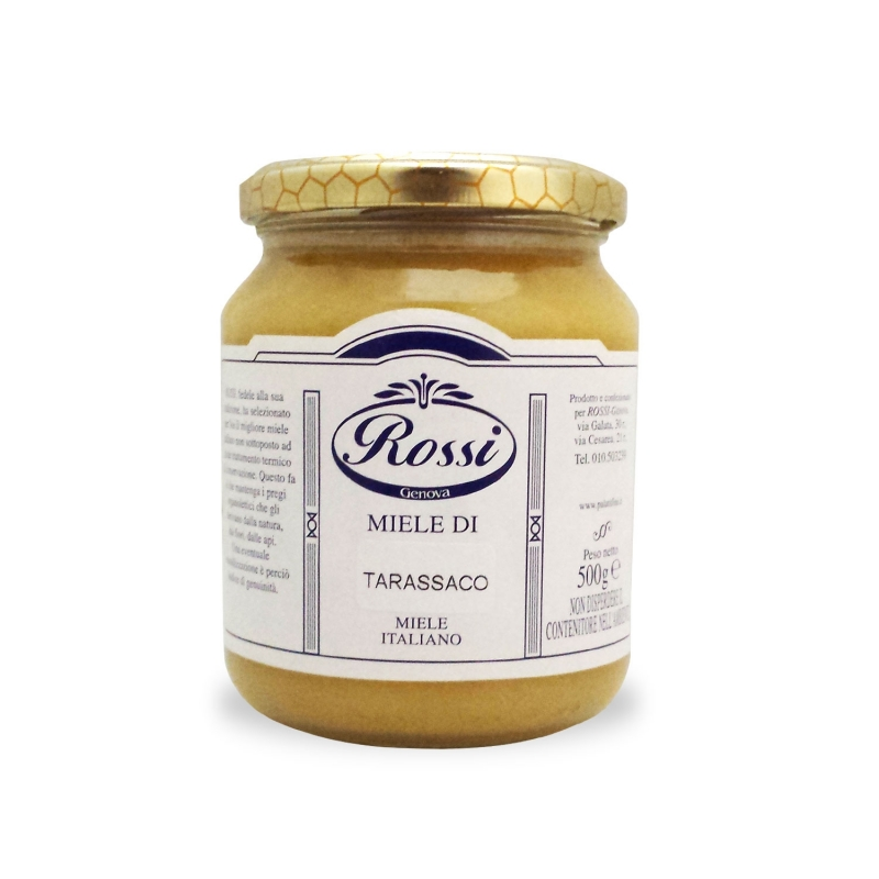 Pissenlit miel, 500 grammes - Rouge
