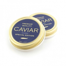 Italian Agroittica caviar - Premium Quality Malossol, 100 gr. - Special Edition