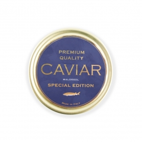 Caviale Cavalier - Premium Quality Malossol, 100 gr. – Special Edition