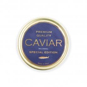 Caviar italien Agroittica - Malossol de qualité supérieure, 100 gr. - Edition spéciale