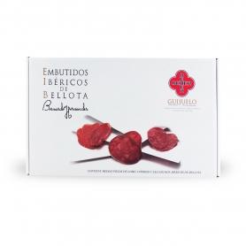 Trio von Salami iberischen Bellota - Lomo, Chorizo, salchichon - AC 500 gr. Schuft