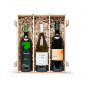 Selezione Liguria - Tris di vini bianchi liguri in cassetta da 6 bottiglie, 0,75 cl  - I vini italiani bianchi