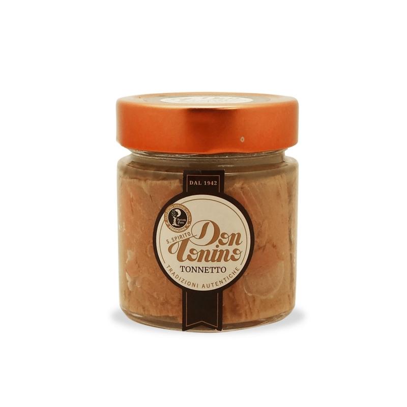 Tonnetto in olio di oliva, 180 gr. - S. Spirito Don Tonino