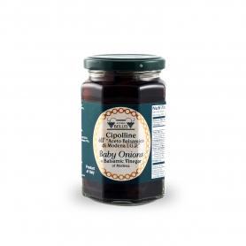 Oignons avec vinaigre balsamique de Modène, 290 gr - Acetaia Bellei