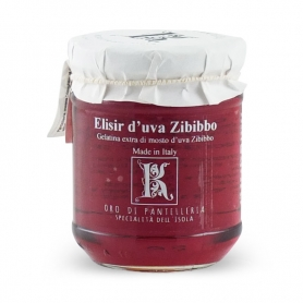 Elisir d'uva Zibibbo, 230 gr - Kazzen