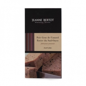 Foie gras Mi Cuit de canard Entier du Sud-Ouest, 90 gr. - Jeanne Bertot