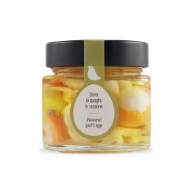 Uova di quaglia in carpione,  210 ml - La Giardiniera di Morgan
