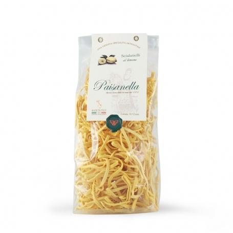 Scialatielli al limone, 500 gr. - Pastificio Paisanella - Paste Aromatizzate
