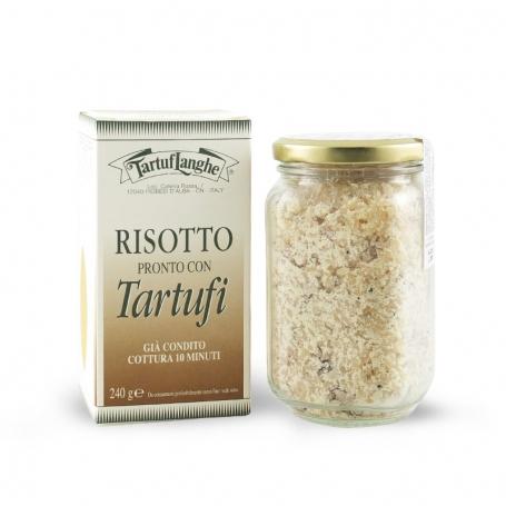 Risotto pronto con tartufo, 240 gr - Tartuflanghe - Risotti pronti