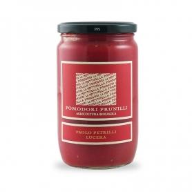 Pomodori passati con pomodorini Prunilli sbucciati, 314 ml - Paolo Petrilli