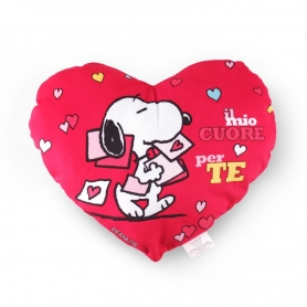 Heart pillow Snoopy Lindor, 125 gr. - Lindt