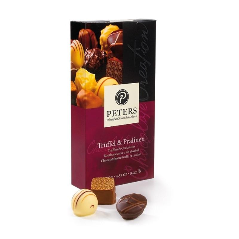 Packaging pralines Peters, 100 gr