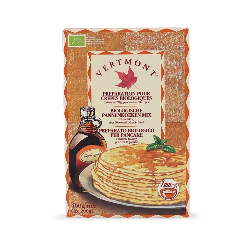 Preparato per pancake biologico, 400 gr - Vermont