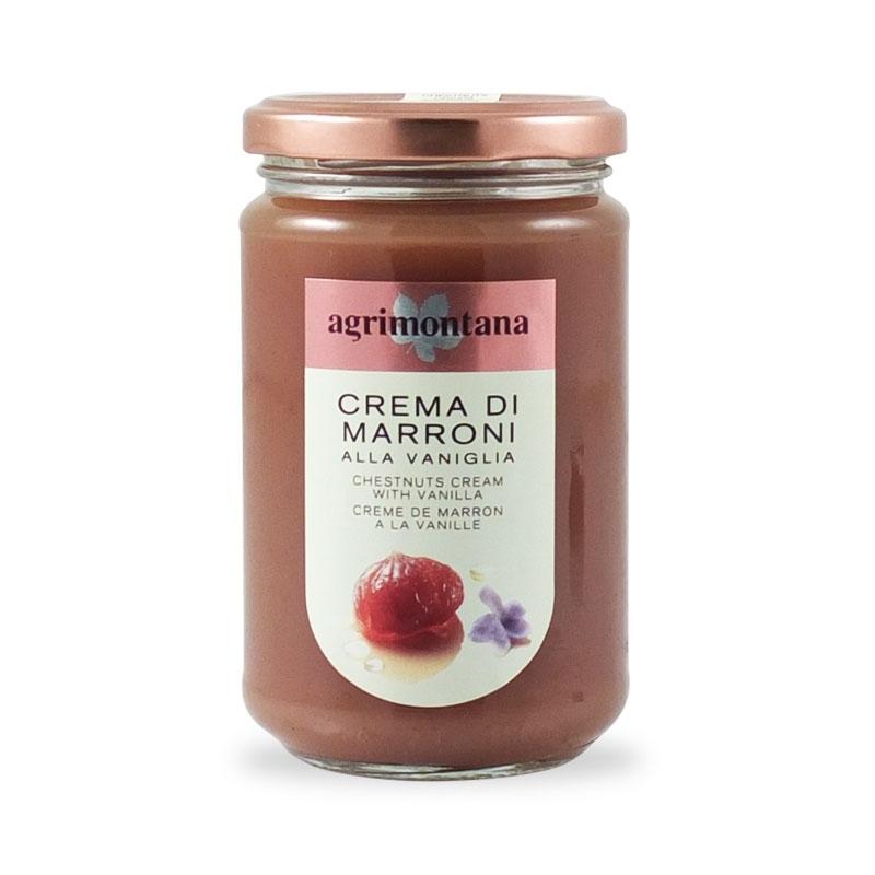 Crema di Marroni con Vaniglia, 350 gr. - Agrimontana