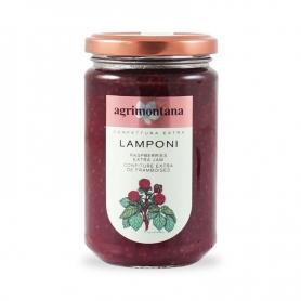 Confettura extra di Lamponi, 350 gr - Agrimontana