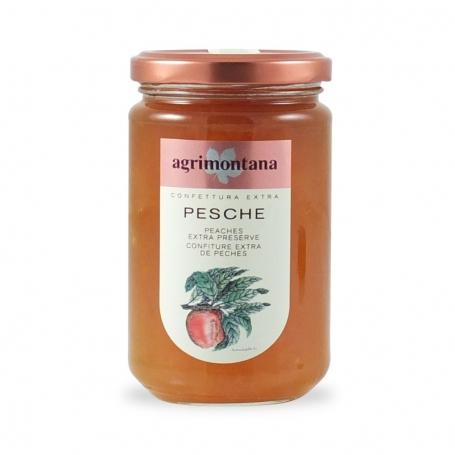 Konfitüre extra Pfirsiche, 350 gr - AgriMontana