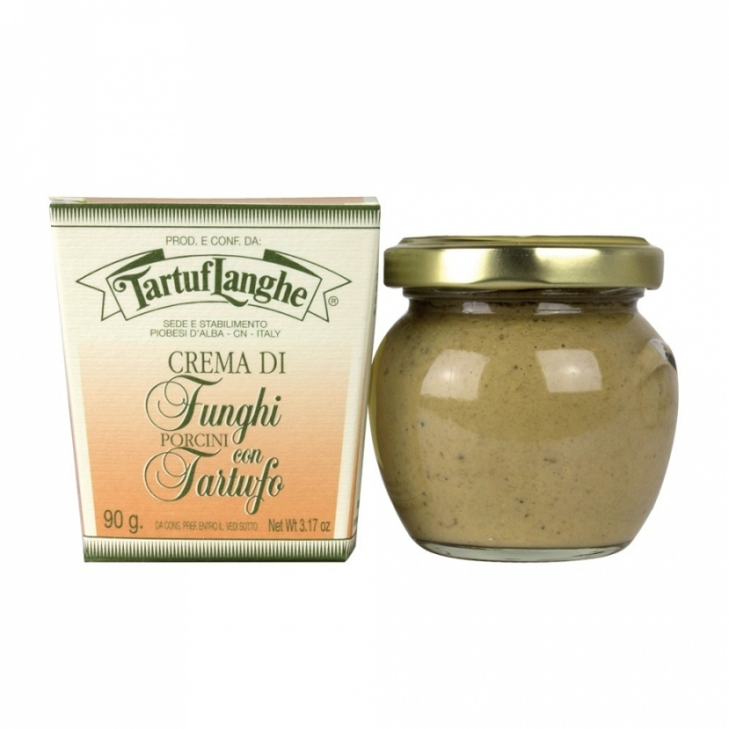 Cream of porcini mushrooms with truffle 90 gr