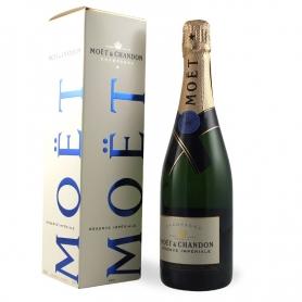 Moet & Chandon - Champagne Réserve Impériale, l. 0,75 1 Flasche Beutel.