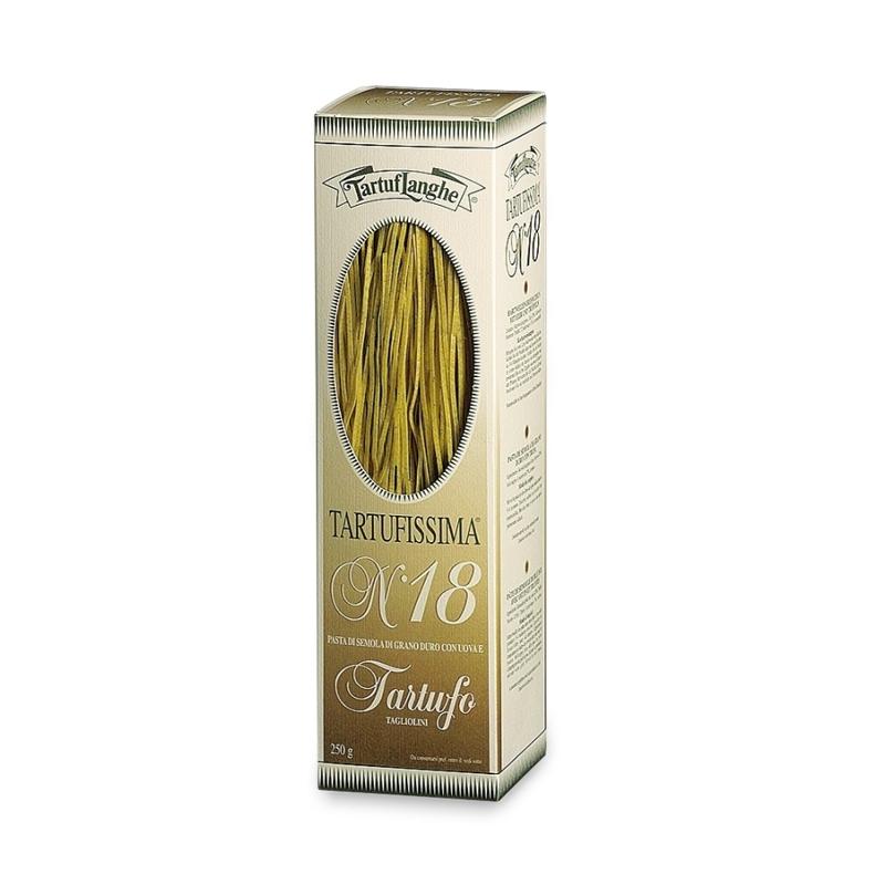 Tagliolini con tartufo Tartufissima N°18, 250 gr - Tartuflanghe