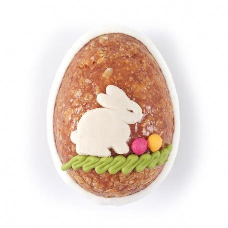 Uovo di croccante alla mandorla, 3 pz. 50 gr cad. - Rossi - Le uova di Pasqua
