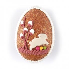 Uovo di croccante alla mandorla, 2 pz. 100 gr cad. - Rossi