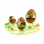 Uovo di croccante alla mandorla, 300 gr - Rossi - Le uova di Pasqua