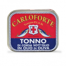 Tuna with oil, 350 gr - Tonnare PIAM di Carloforte