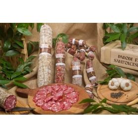 Salame di Sant'Olcese tradizionale, 400 gr - Salumificio Parodi