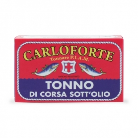 Race Tuna in oil, 170 gr - Tonnare AMIP of Carlisle