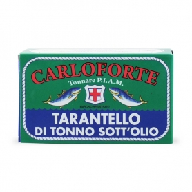 Tarantello of race in oil tuna in olive oil, 170 gr - Tonnare AMIP of Carlisle