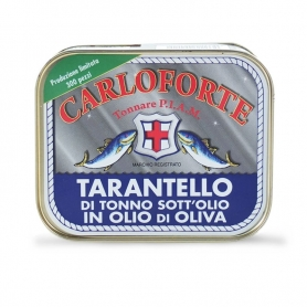 "Tarantello of race in oil Tuna in Olive Oil ""Gold Line"", 350 gr - Tonnare AMIP of Carlisle"
