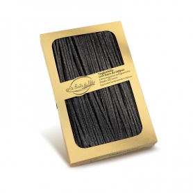 Chitarrine con Nero di Seppia, 250 gr - La pasta di Aldo