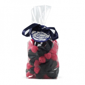 Candy blackberries and raspberries, 500 g