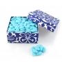 confetti bleu 500 grammes