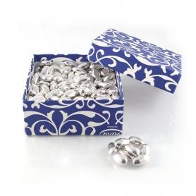 Konfetti Silber - Silber Hochzeit 25 Jahre, 1 kg