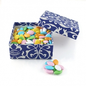Chocolate confetti assorted colors, 1 kg
