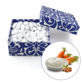Sugared almond covered with fine chocolate - Yogurt and carrots, 1 kg