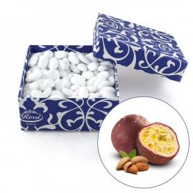 Gezuckerte Mandeln bedeckt mit feinem Schokolade - Passionsfrucht, 1 kg