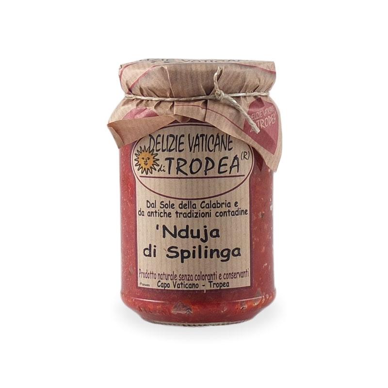'Nduja di Spilinga, 280 gr. - Delizie Vaticane di Tropea