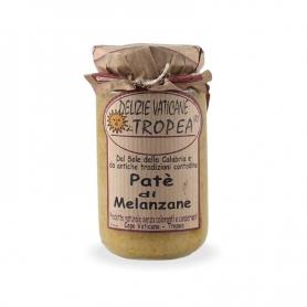 Patè di melanzane, 180 gr - Delizie Vaticane di Tropea